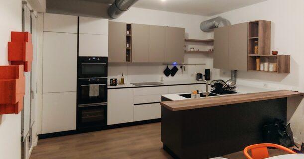 Cucina su misura: estetica, funzionale e soprattutto ergonomica